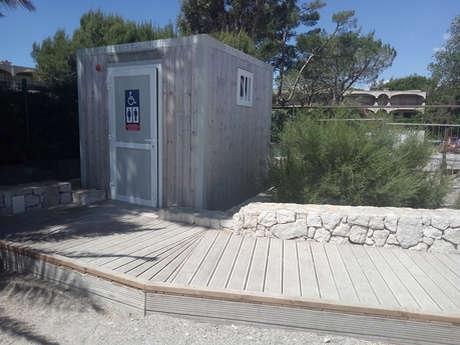 Toilettes publiques de la Promenade Baie des Anges