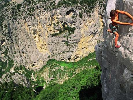 Sallières - rock climbing area