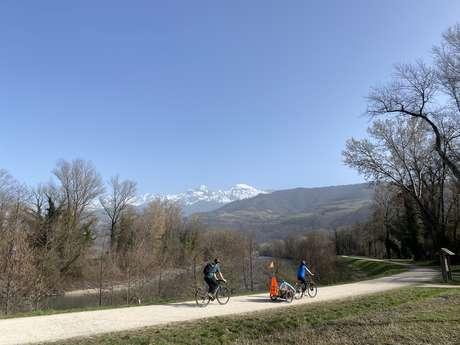 Parcours Mésange par les berges de l'Isère