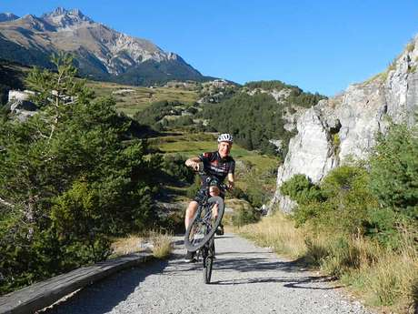 Itinerary MTB Aussois - The forts