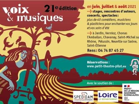"""Voix et musiques Pilat """"Le voyage de Zanni et Arlequino"""""""