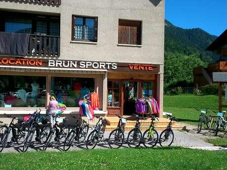 Loueur de vélo Brun sports