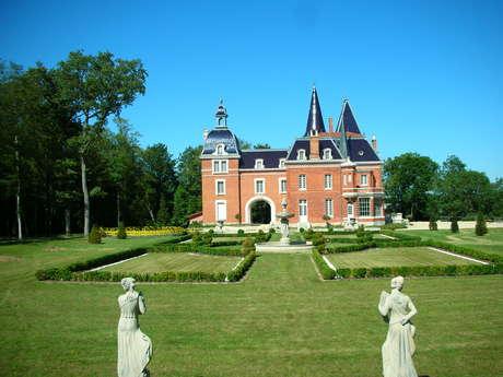 Espaces de réception du Château des Creusettes