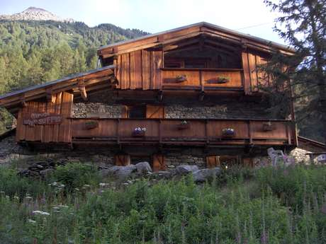 Natural camping area - Refuge-gîte du Suffet