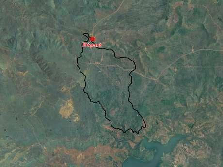 Piste 7 - Piste de la Rivière du Carénage aux Boucles de Netcha : piste inaccessible