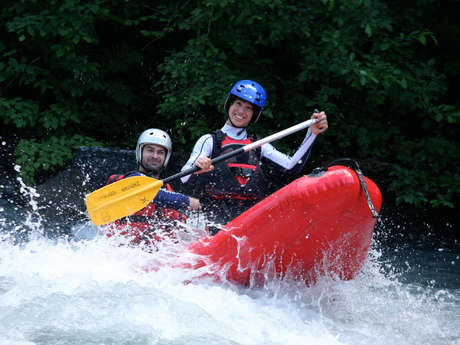 Canoe raft/Airboat
