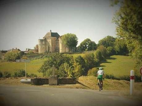 """Randonnée """"Autour des châteaux""""  en vélo-route et à pied"""