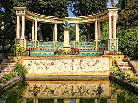 Visite guidée du jardin Fontana rosa