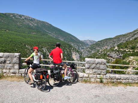 La Route des Crêtes - Le Grand Canyon - Espace cyclosport