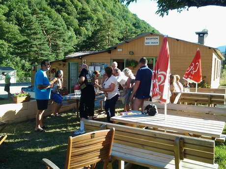 Snack-Pizza Camping l'Adrech