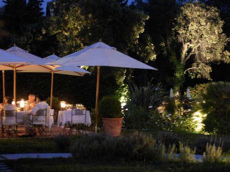 Restaurant gastronomique de l'hôtel La Villa les Rosiers