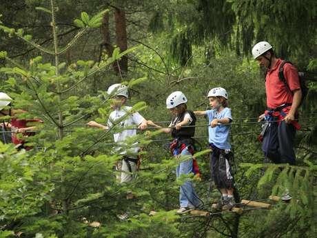 Bougez dans les Monts du Pilat - Via Ferrata enfant (à partir de 110 cm soit 6-8 ans)