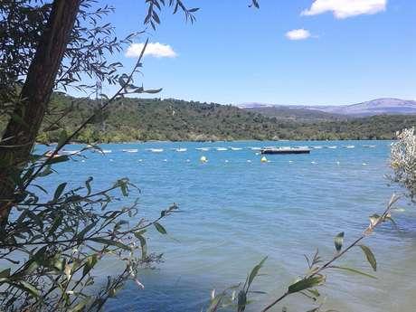 Plage du lac de Saint Cassien