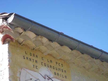 Cadran solaire de Sainte-Colombe