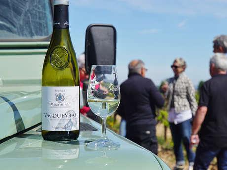 Découverte du vignoble en véhicule tout-terrain - Rhonéa