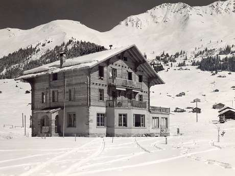 Educational trail on the history of Verbier