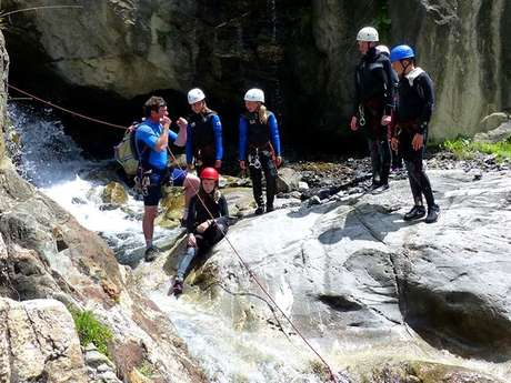 Accompanied canyoning outing
