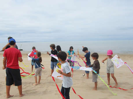 Atelier estival enfants - Jeux du vent
