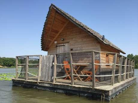 Cabanes flottantes aventure de 2 à 3 personnes (Poissons, Cygnes, Libellules)