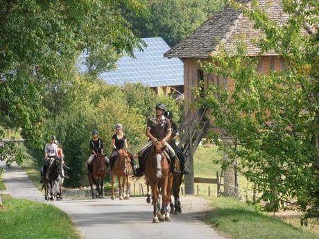 Séjour enfant-ado : équitation passion en Quercy