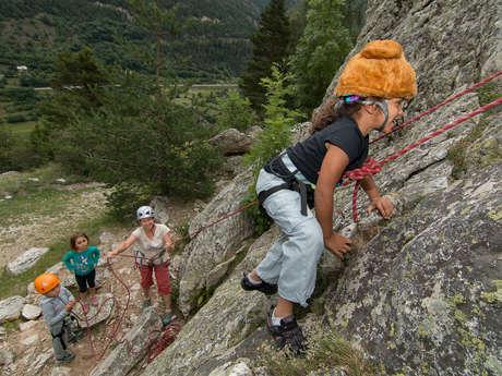 Des vacances sur les rochers !