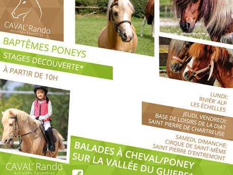 Balades à poney en Chartreuse