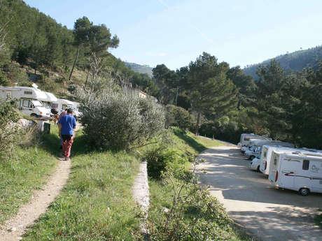 Aire de Camping-car la Ribassée