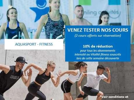 Semaine découverte aquasport - fitness