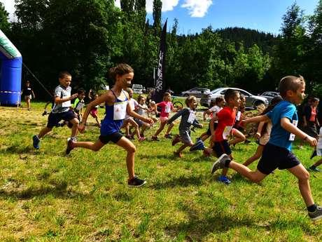 Trail des Mélèzes course enfant