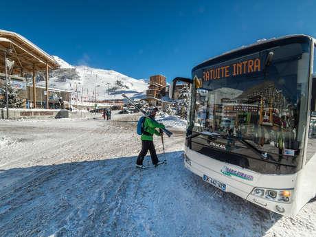 Navette Merlette bus gratuit (hiver)