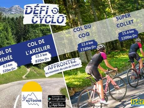 Défi cyclo du Col du Coq