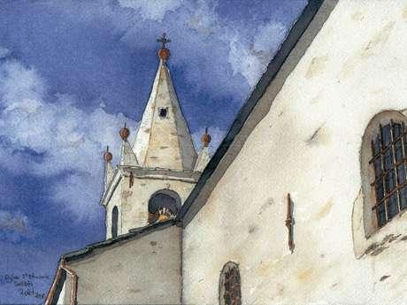 Eglise Saint-Etienne : Sollières