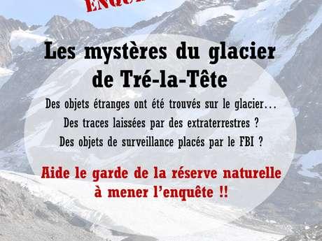 Jeu Enquête : Les mystères du glacier de Tré-la-tête