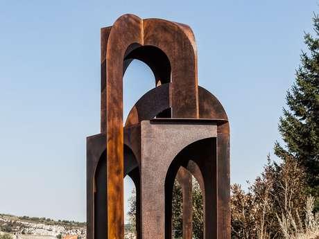 "Skulptur ""Arcature"" von Dominique Mercy"