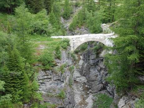Mauvoisin bridge