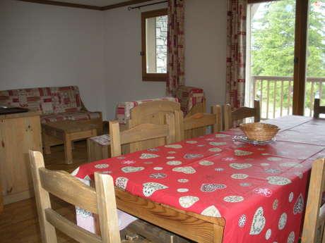 Résidence Le Clos Vanoise - Apartment 4 rooms cabine 8 people - CV14
