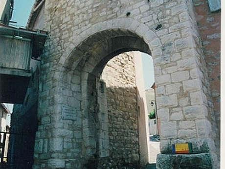 La porte Gachiou et les anciens remparts
