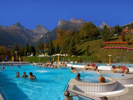 Thermal baths in Ovronnaz