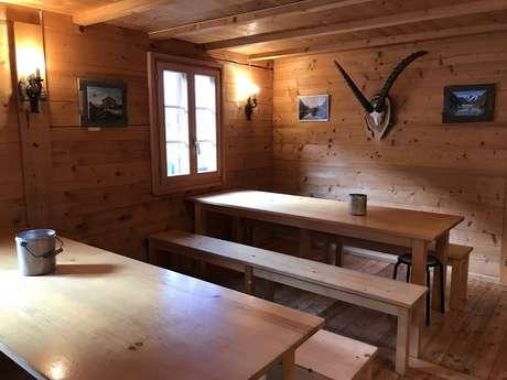 Cabane de Louvie
