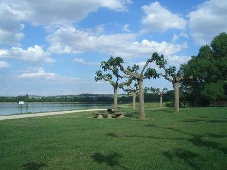 Aire de pique-nique - Base de loisirs de Beaumont