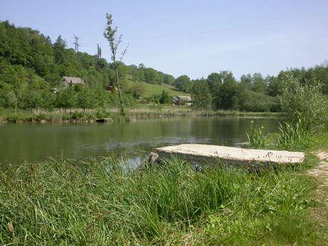 Parcours Pêche de Savoie sur le Lac de la Pisserotte