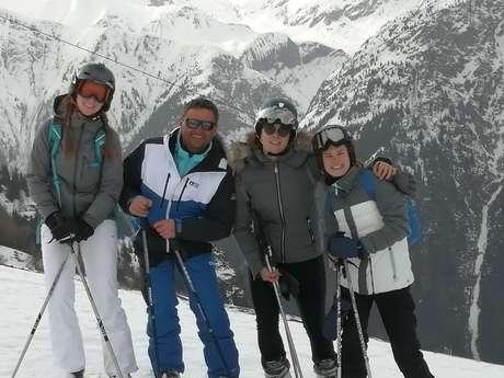 Ski and snowboard lessons - Independant instructor Christophe Ski & Snowboard