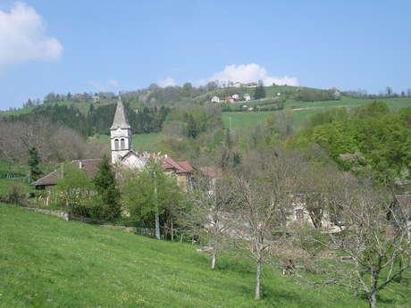 Rando pédestre : Les deux villages de Saint-Aupre