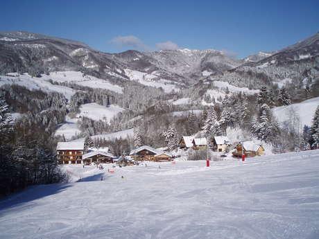 Granier ski resort in the Entremonts