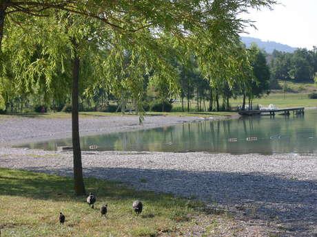 Site de pêche du plan d'eau du Riou