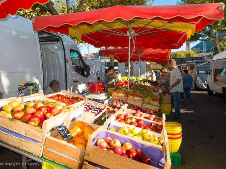 Rando pédestre :  Le parcours du marché