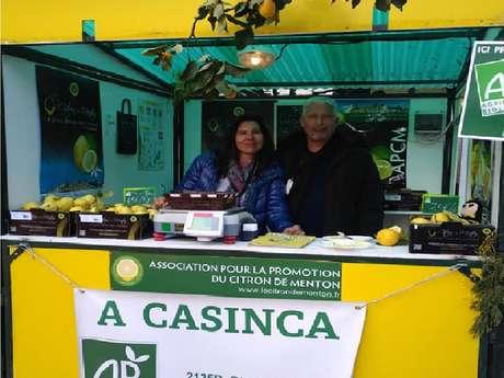 Producteurs du Citron de Menton IGP, agriculture bio - A Casinca