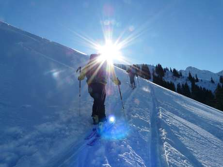 Ski de randonnée initiation