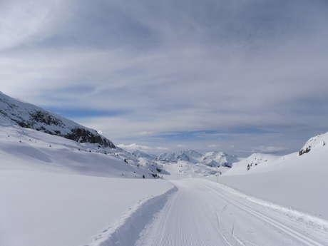 Winter trail - La Boucle des Lacs