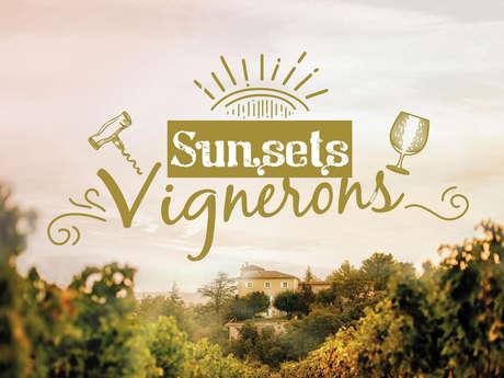Sunsets Vignerons 2020 au Château le Puy Saurette